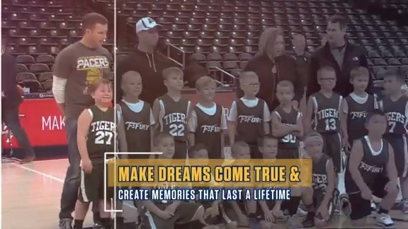 Pacers Groups Fan Experience: Court of Dreams