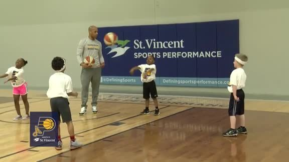 Jr. Pacers Clinic at Pacers Athletic Center