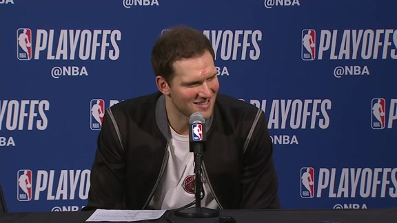 Postgame: Bojan Bogdanovic Press Conference - April 20, 2018