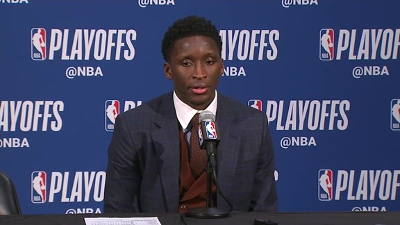 Postgame: Victor Oladipo Press Conference - April 20, 2018