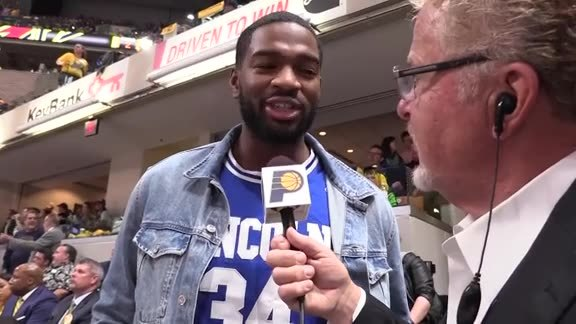 Colts QB Jacoby Brissett Talks Hoops