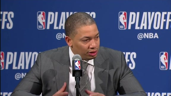Postgame: Tyronn Lue Press Conference - April 22, 2018