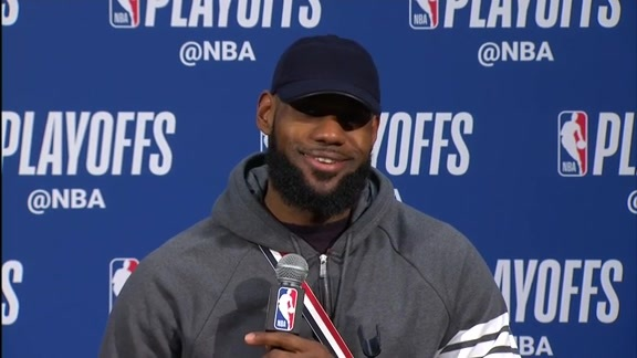 Postgame: LeBron James Press Conference - April 22, 2018