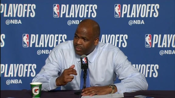 Postgame: Nate McMillan Press Conference - April 25, 2018