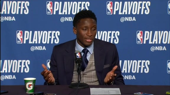 Postgame: Victor Oladipo Press Conference - April 25, 2018