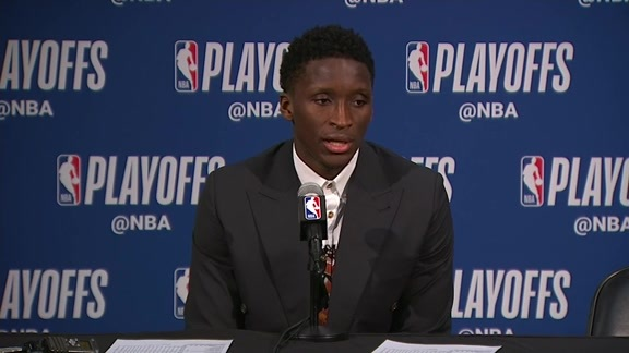 Postgame: Victor Oladipo Press Conference - April 27, 2018