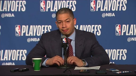 Postgame: Tryonn Lue Press Conference - April 29, 2018