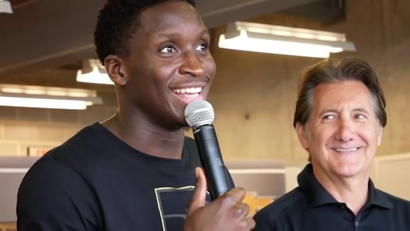 Oladipo On Driving the Pace Car
