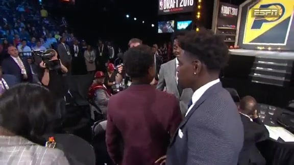 The Indiana Pacers Select Aaron Holiday