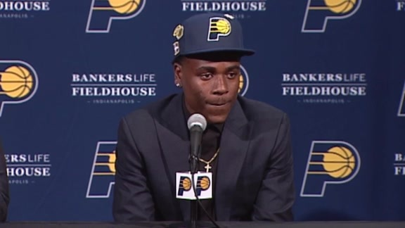 Aaron Holiday's Introductory Press Conference