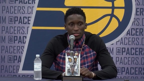 Oladipo on His Teammates and Coaches