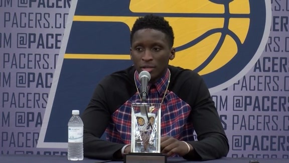Oladipo on His Pitch to Free Agents