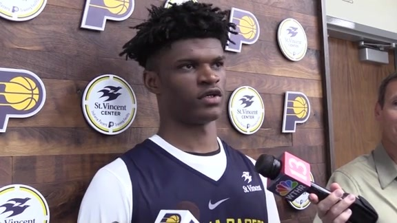 Alize Johnson on Being Drafted by Pacers, Summer League