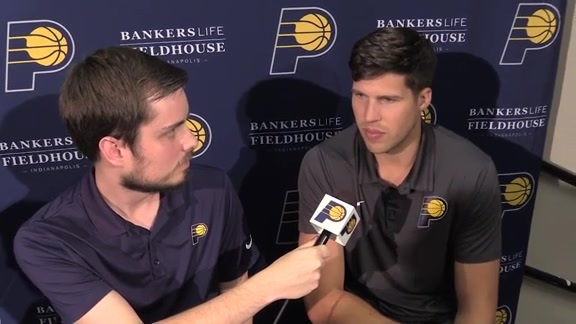 Doug McDermott on Joining the Pacers