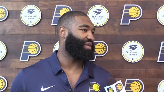 Kyle O'Quinn on Signing with the Pacers