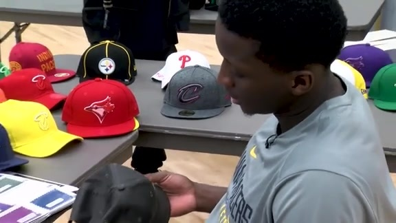 Behind the Scenes: Oladipo's New Era Hat Designs