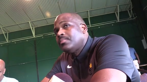 Coach McMillan Talks Training Camp at Pacers Foundation Golf Outing