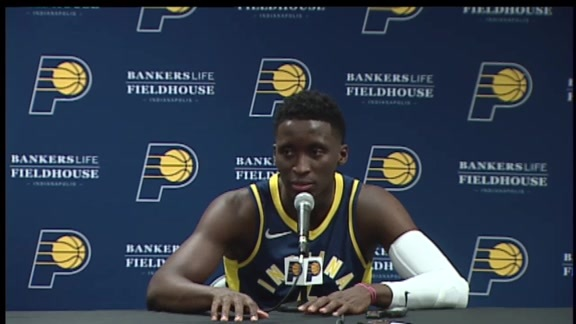 Victor Oladipo 2018 Media Day Press Conference