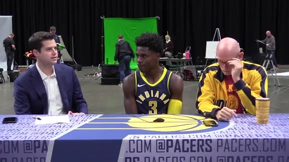 Media Day 2018: Aaron Holiday