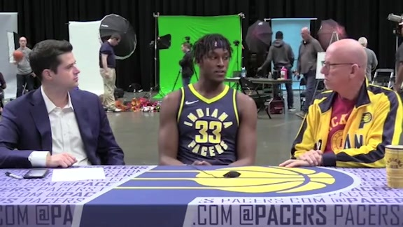 Media Day 2018: Myles Turner