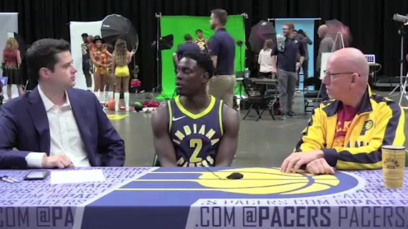 Media Day 2018: Darren Collison