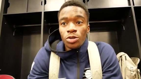 Postgame: Pacers Locker Room - Oct. 8, 2018