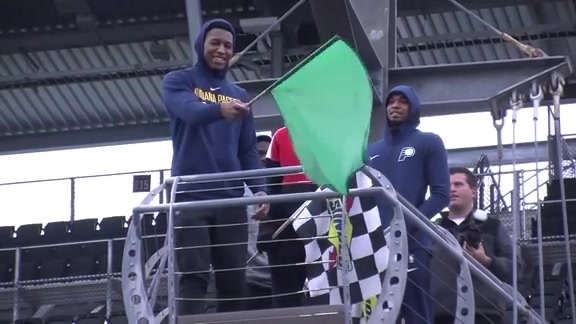 Pacers Learn Business of Speed at the IMS