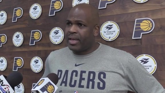 Practice: Pacers Prepare for New York