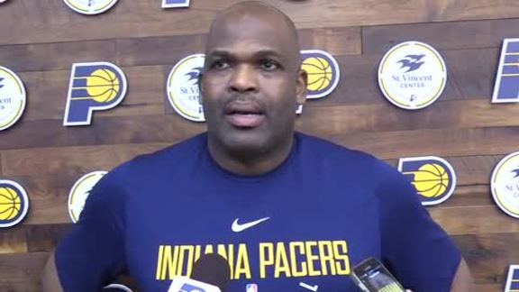 Practice: McMillan Wants Pacers to Pick Up Tempo