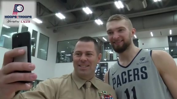 2018 Hoops for Troops Military Practice and Luncheon