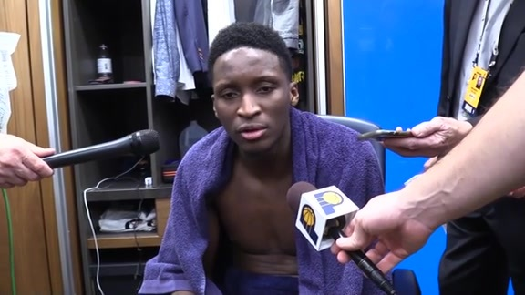 Postgame: Pacers Locker Room - Dec. 12, 2018