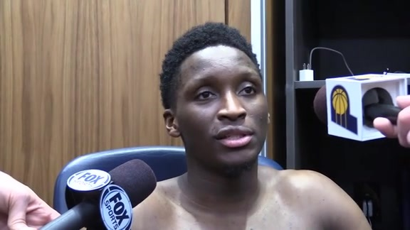 Postgame: Pacers Locker Room - Dec. 31, 2018