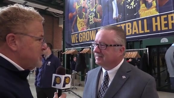 IHSAA Commissioner Bobby Cox on Basketball Day Indiana