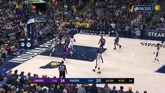 Bogdanovic's Hot Start Sparks #PacersWin over Lakers