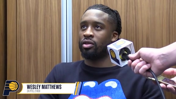 Postgame: Pacers Locker Room - Feb. 22, 2019