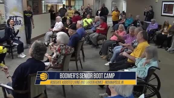 2019 NBA Fit Week: Boomer's Senior Boot Camp