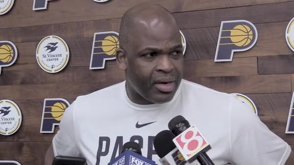 Practice: Pacers Motivated for Friday's Tilt