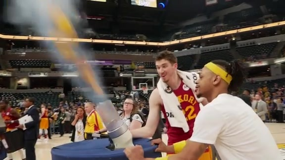 Pacers Enjoy Giving Back on Fan Appreciation Night