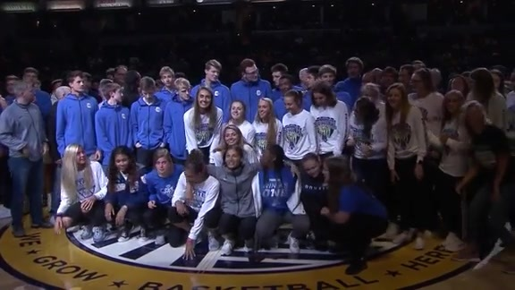 IHSAA Boys and Girls Basketball State Champs Honored