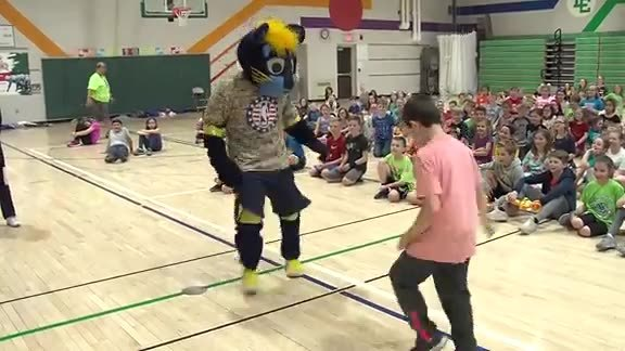 Boomer's Boot Camp: Triton Central Elementary School