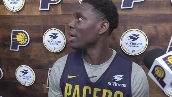 Shootaround: Pacers Looking for Right Shots in Game 3