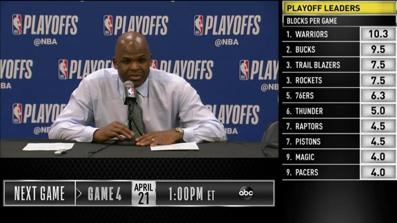 Postgame: Nate McMillan Game 3 Press Conference - April 19, 2019