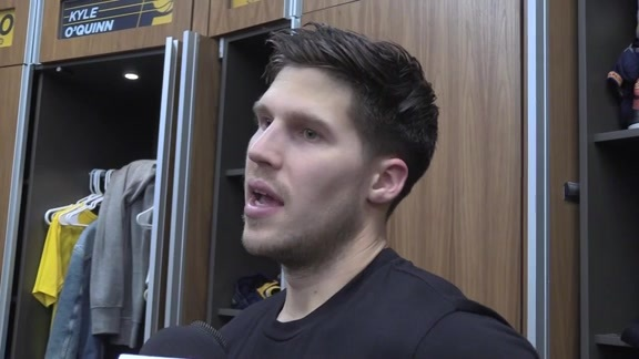 Postgame: Pacers Locker Room - April 19, 2019