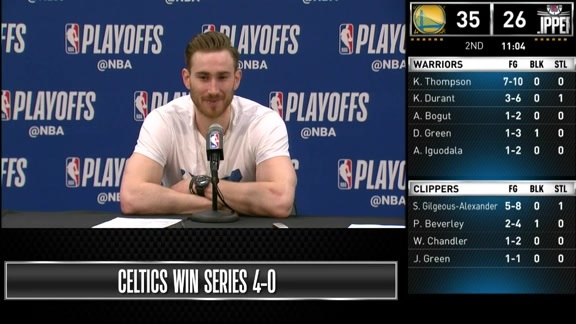 Postgame: Gordon Hayward Game 4 Press Conference - April 21, 2019