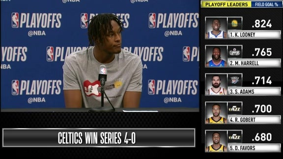 Postgame: Myles Turner Game 4 Press Conference - April 21, 2019