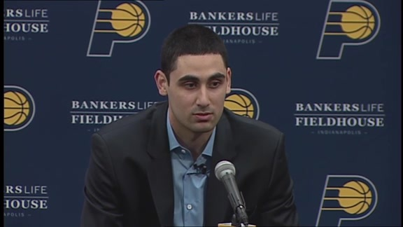 Goga Bitadze's Introductory Press Conference