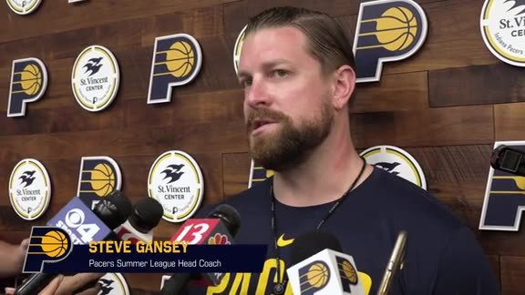 Practice: Pacers Prepare for Summer League