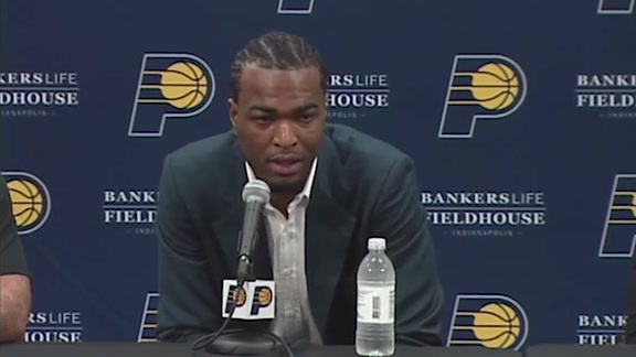 Warren on Signing with Pacers; Continuing Improvement