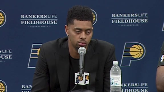 Lamb on Signing with Pacers, New Role
