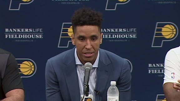 Brogdon on Joining the Pacers, Playing Alongside Oladipo